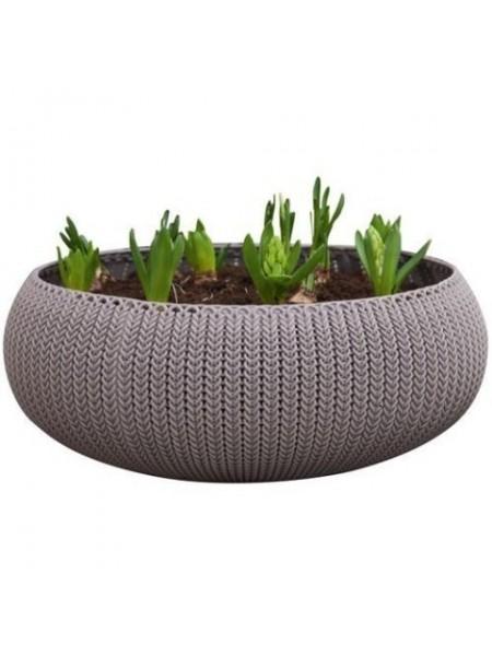 Горшок для растений COZIES L светло-коричневий