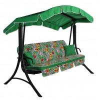 Садовые диван-качели Ost-Fran Bali зелёный