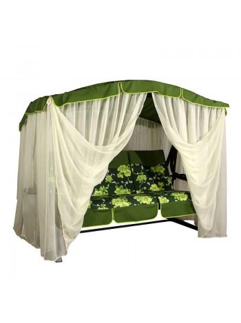 Садовые диван-качели Ost-Fran Barcelona зелёные