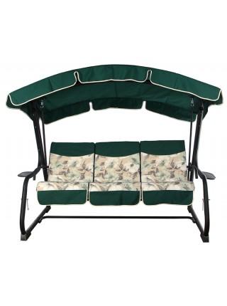 Садова диван-гойдалка Ost-Fran Barcelona темно-зелена