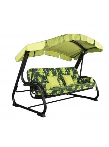 Садовые диван-качели Ost-Fran Dallas зелёные