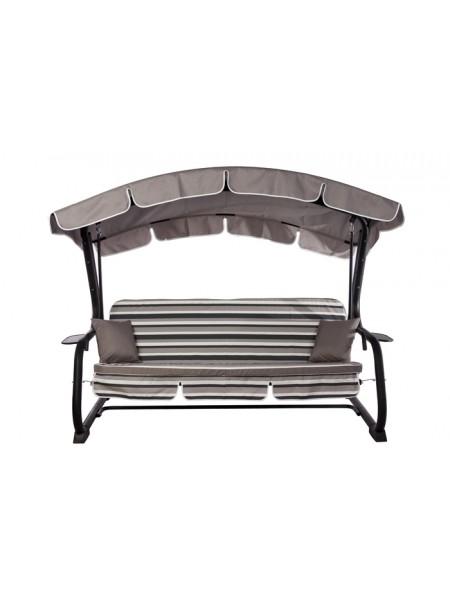 Садова диван-гойдалка Ost-Fran Deli сірі
