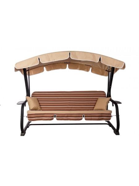 Садова диван-гойдалка Ost-Fran Deli коричневі