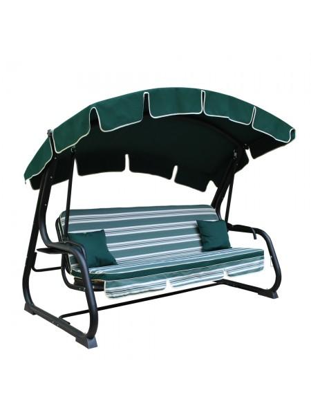 Садовые диван-качели Ost-Fran Deli темно-зеленые