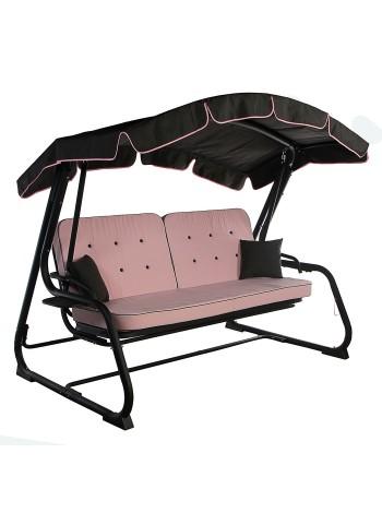 Садова диван-гойдалка Ost-Fran Evia рожеві