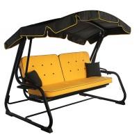Садовые диван-качели Ost-Fran Evia жёлтые