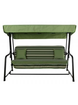Садова диван-гойдалка Ost-Fran Seattle темно-зелена