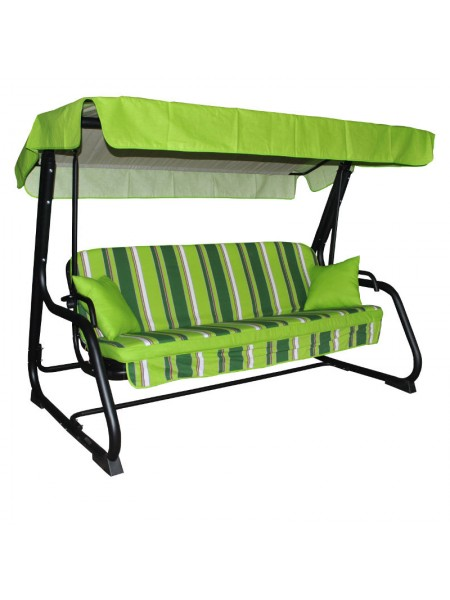 Садовые диван-качели Ost-Fran Virginia зелёные