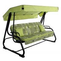 Садовые диван-качели Ost-Fran Virginia салатовая плитка