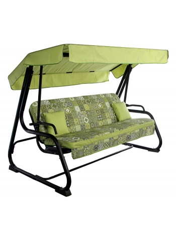 Садова диван-гойдалка Ost-Fran Virginia салатова плитка