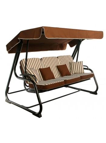Садовые диван-качели Ost-Fran Aurora коричневые