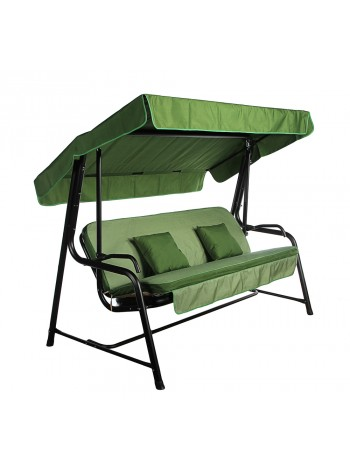 Садовые диван-качели Ost-Fran Seattle зелёные