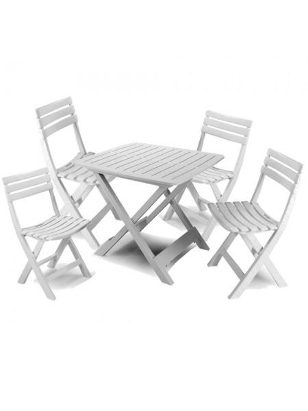 Комплект Progarden Camping белый (4 стула)
