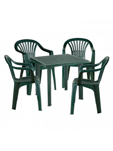 Набор Progarden Fiocco 4 кресла Altea зеленый