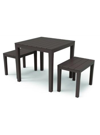 Комплект меблів Progarden Papua коричневий