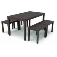 Комплект меблів Progarden Samoa коричневий