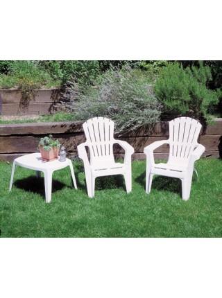 Кресло Progarden Dolomiti белое
