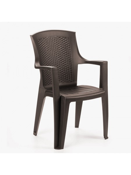 Крісло Progarden Eden коричневе