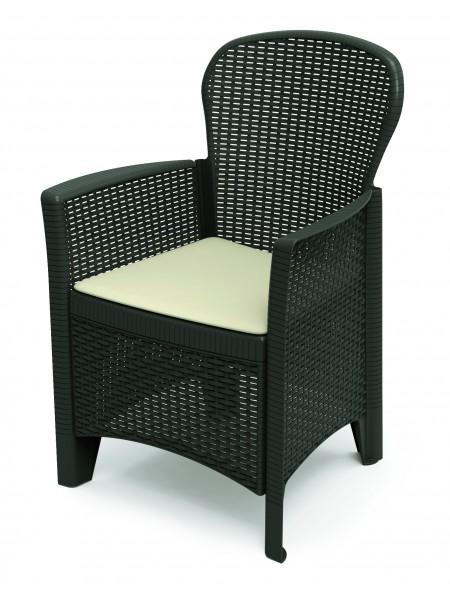 Кресло Progarden Folia антрацит