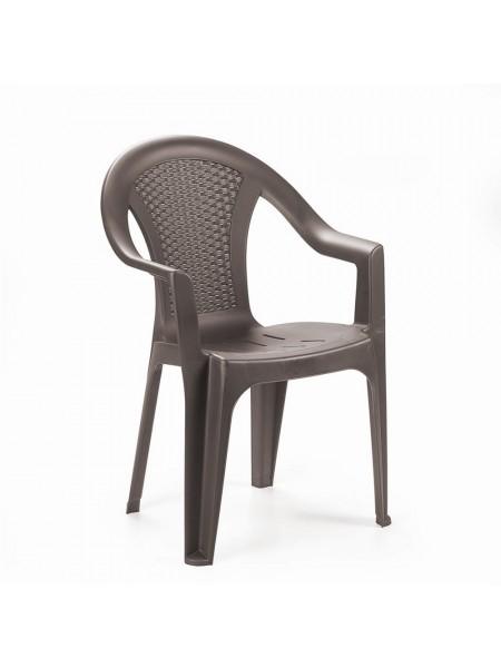 Крісло Progarden Ischia коричневе
