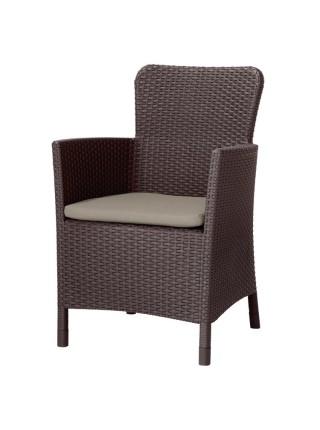 Крісло Keter Miami DC коричневий