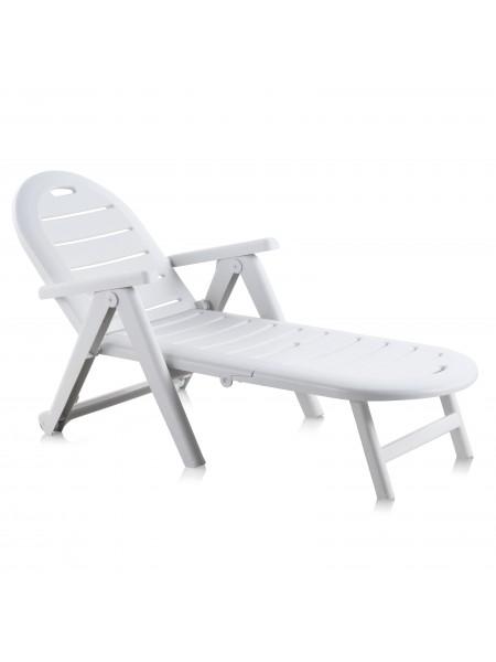 Лежак Sp-Berner Caiman білий