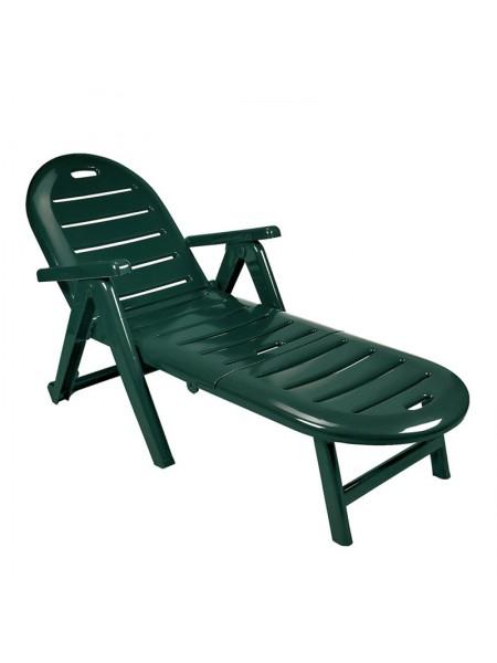 Лежак Sp-Berner Caiman зелений