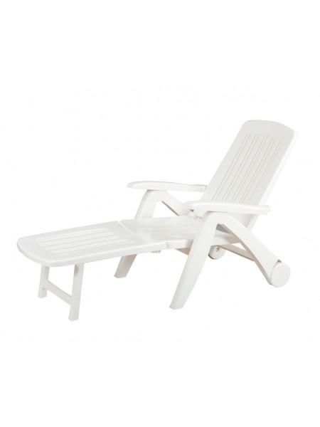 Лежак Bica Cancun белый