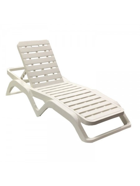 Лежак Progarden Scirocco білий