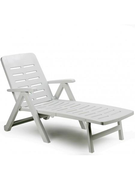 Лежак Progarden Smeraldo білий