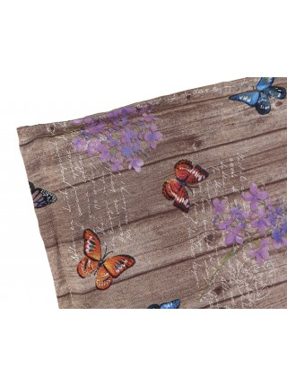 Матрац для шезлонга Ost-Fran Basic бежевий з метеликами