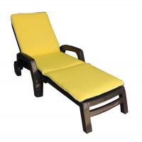 Матрас на лежак Ost-Fran Duet жёлто-зелёный