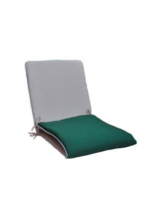 Матрас на лежак Ost-Fran Duet зелёно-бежевый