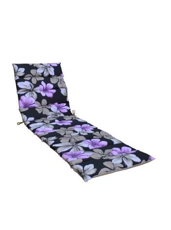 Матрас для шезлонга Ost-Fran Onda Cotton фиолетовый