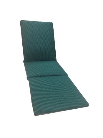 Матрас для шезлонга Ost-Fran PATCHWORK зелёный