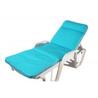 Матрас на лежак Ost-Fran Quadro голубой двосторонний