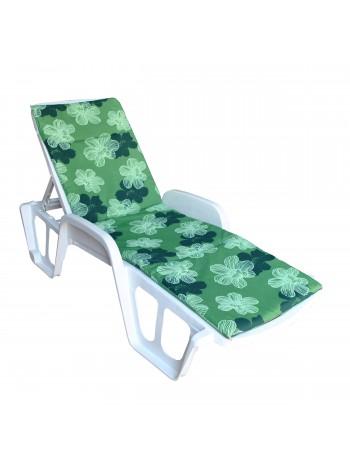 Матрас на лежак Ost-Fran Sun зелёный