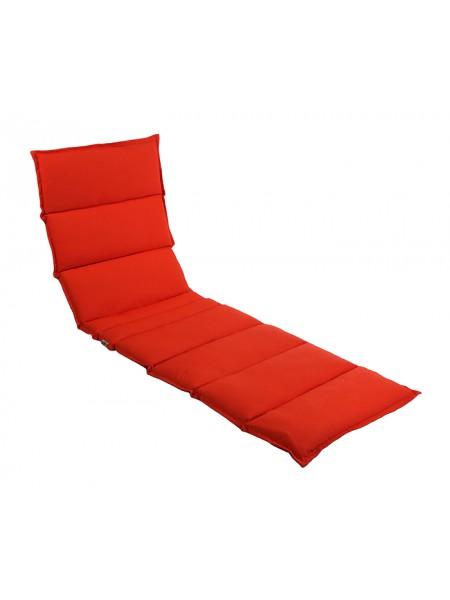 Матрац для шезлонга Ost-Fran Wave texsilk червоний меланж