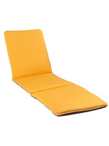 Матрас на лежак Ost-Fran Trio жёлтый
