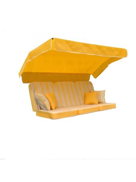 М'який комплект до гойдалки Ost-Fran Aurora texsilk жовтий