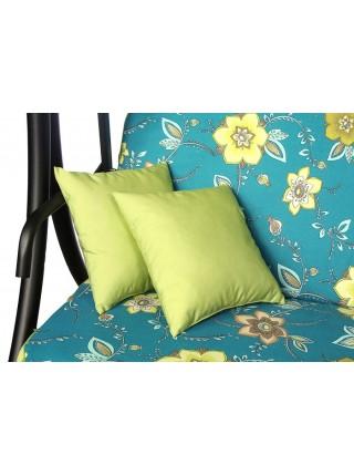 М'який комплект до гойдалки Ost-Fran Bali Cotton зелений з бірюзовим