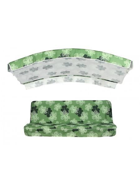 Мягкий комплект к качелям Ost-Fran Econom зеленый
