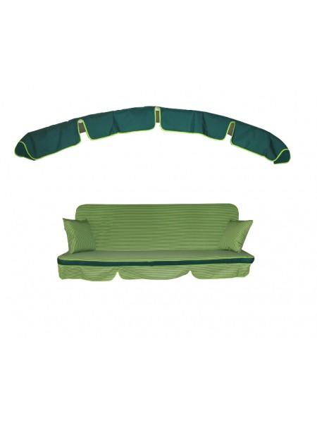 Мягкий комплект к качелям Ost-Fran Deli зеленый