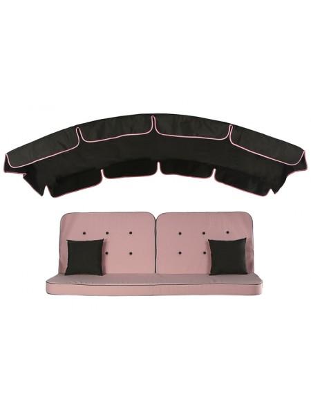 М'який комплект до гойдалки Ost-Fran Evia рожевий