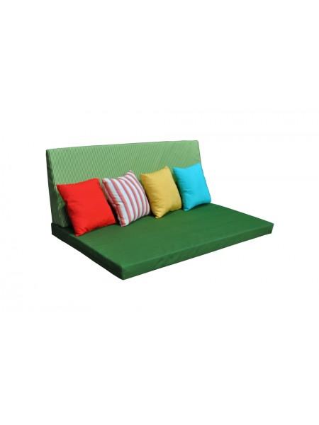 Палет-диван Ost-Fran Relax зелёный