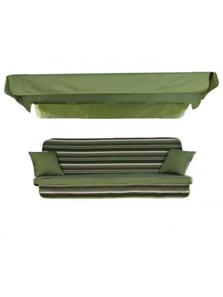 М'який комплект до гойдалки Ost-Fran Seattle темно-зелений