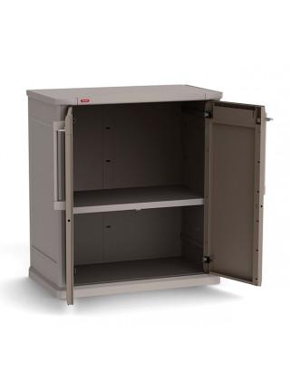 Ящик для  внешнего хранения Optima Outdoor Base бежево-серый