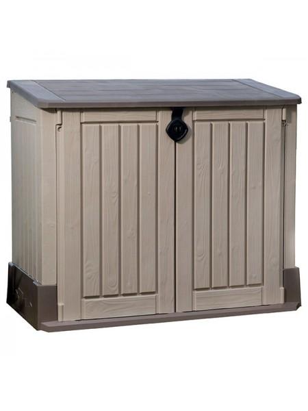 Ящик для  внешнего хранения Store it Out Midi бежево-коричневий