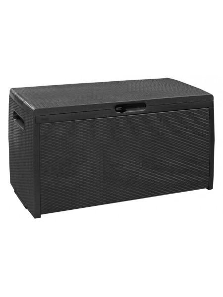 Ящик для хранения Keter Storage Box Rattan серый