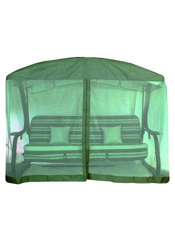 Сітка антимоскітна для гойдалок з округлою дахом Ost-Fran зелена